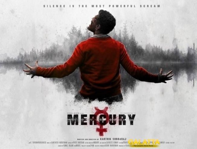 Prabhudeva Karthik Subbaraj Mercury Release Date Announced