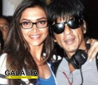 Deepika finds it pleasant working with SRK!