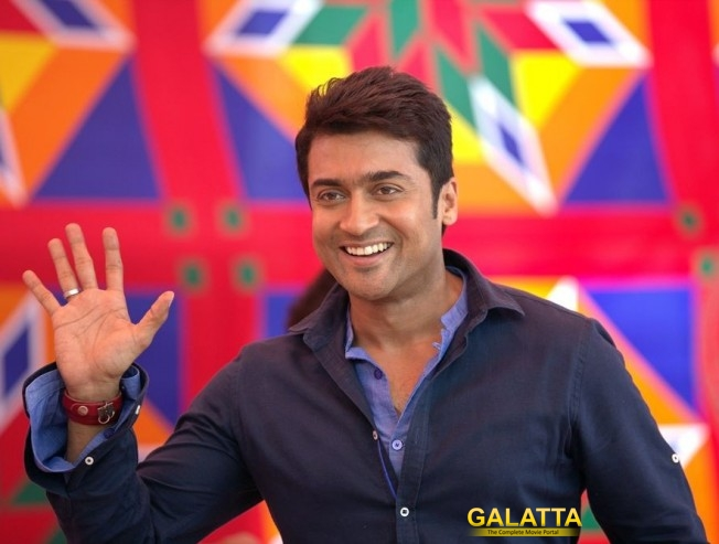 Suriya Confirms Third Film With KV Anand