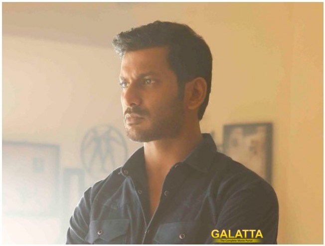 Vishal in Irumbu Thirai