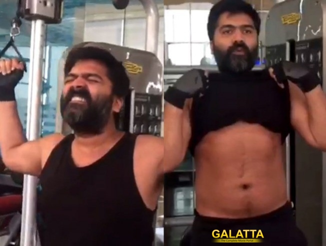 Simbu Aggressive Workout In Gym For Mani Ratnam Multi Starer