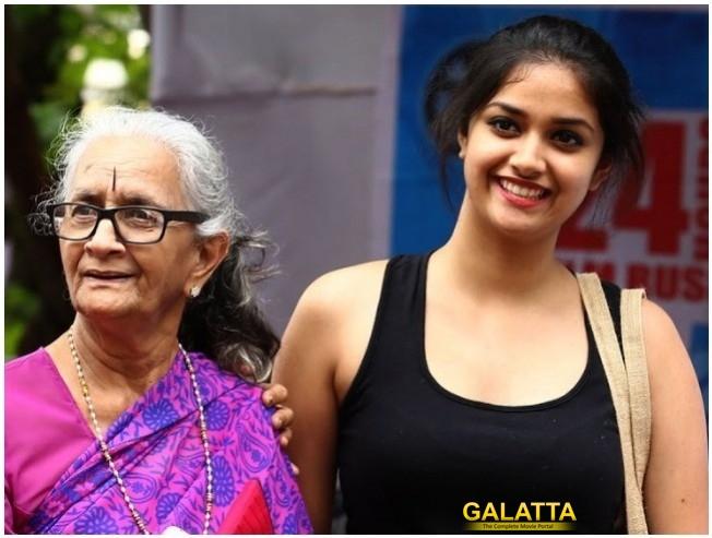 Keerthy Suresh's Grandmother Turns Heroine