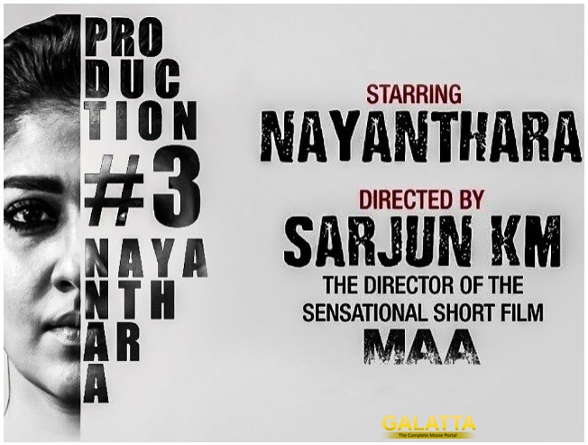 Lady Superstar Nayanthara 63 Movie Shooting Stars From Today