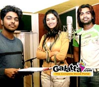 Kaalai Song Recording: Pictures
