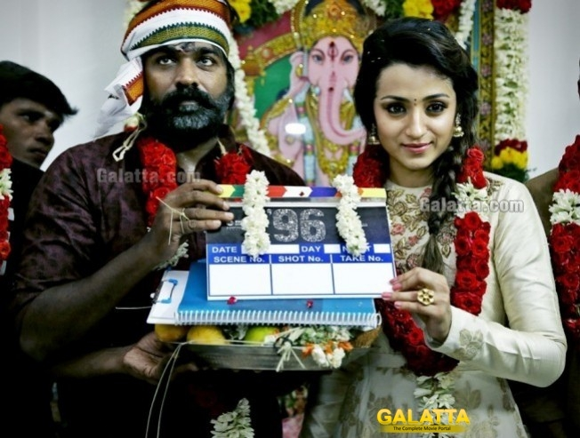 Vijay Sethupathi Trisha Starrer 96 Wraps up Production