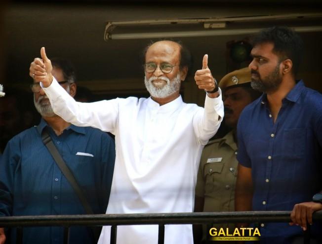 Rajinikanth Meets Spiritual Leader