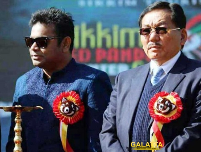 A R Rahman Is Brand Ambassador of Sikkim