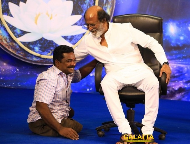 Rajini Fans Justify Why Superstar Had a Lotus in the Backdrop