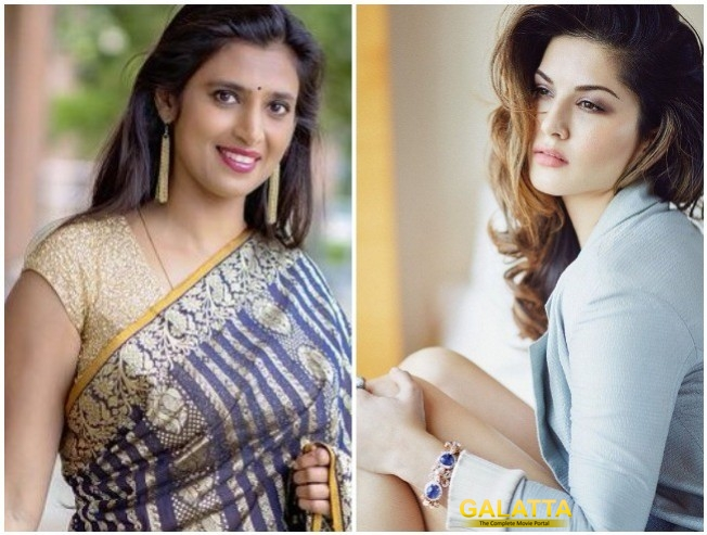 Kasthuri Sarcastic Tweet Between Sridevi Death And Sunny Leone Angers Fans