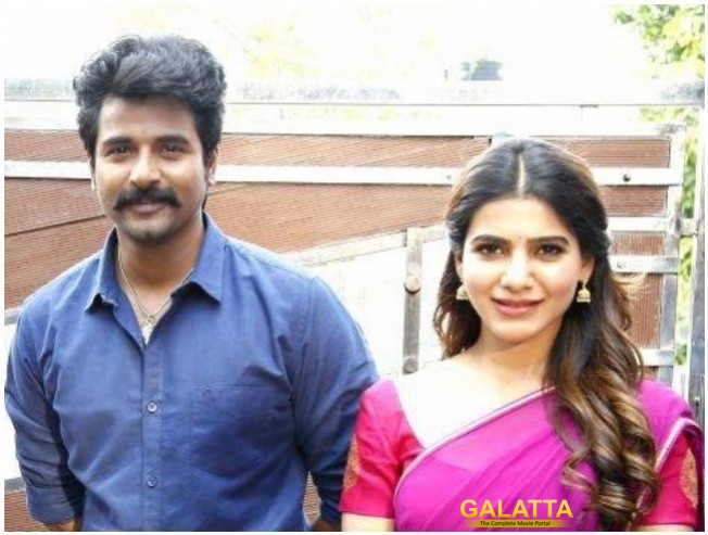 Sivakarthikeyan and Samantha at Seema Raja shooting spot