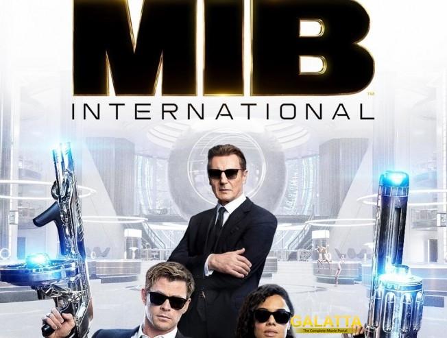 Men in Black international Chris Hemsworth Tessa Thompson Liam Neeson Trailer Released