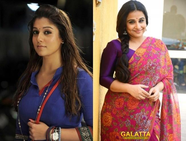 Nayanthara & Vidya Balan To Act In Jayalalitha Biopic?