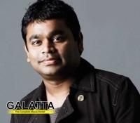 A.R.Rahman's clarification on 'Hosanna'