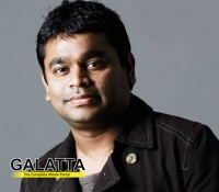 Rahman's first music video for film