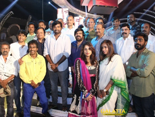 KV Anand - Vijay Sethupathi film completes first schedule