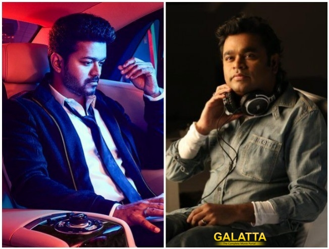 Sarkar Theme Track Being Composed By A R Rahman For Thalapathy Vijay