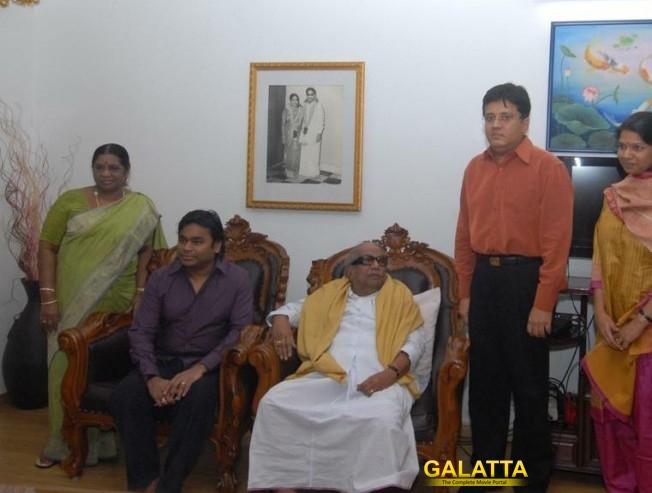 AR Rahman Condolences DMK Chief Dr Kalaignar demise