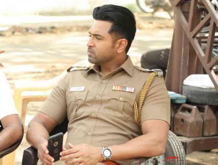 Arun Vijay wraps shoot for GNR Kumaravelan Sinam - Tamil Movie Cinema News
