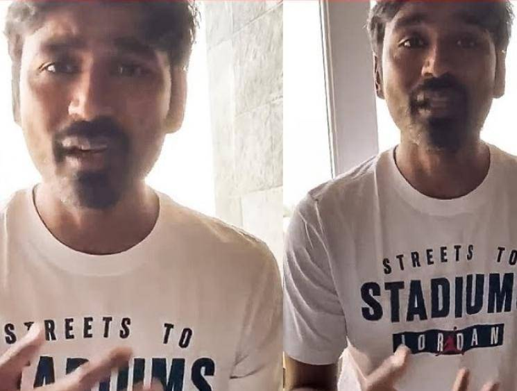 Dhanush request youngsters about coronavirus COVID19 - Tamil Movie Cinema News