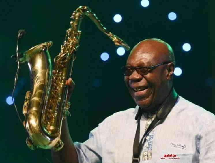 African saxophone legend Manu Dibango dies due to coronavirus - Tamil Movie Cinema News