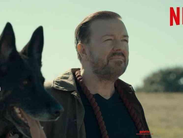 After Life Season 2 Dog Bloopers Netflix Ricky Gervais - Tamil Movie Cinema News