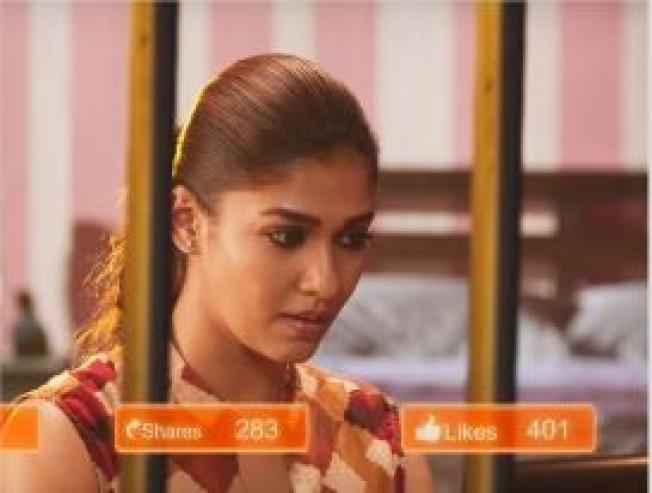 Watch the new promo teaser video from Nayantharas Airaa