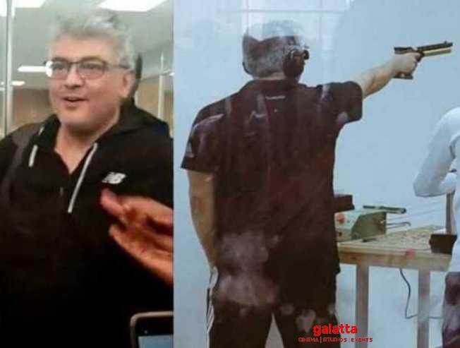 Ajith Kumar rilfe shooting certificate Thala 60 Nerkonda Paarvai - Tamil Movie Cinema News