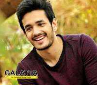 Akhil's debut film creating records