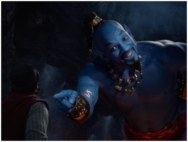 Watch Will Smith as the new Genie in the magical Aladdin trailer