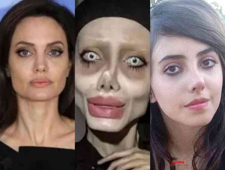 Angelina Jolie wannabe Iranian Instagram star coronavirus - Tamil Movie Cinema News
