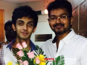 Thalapathy 64 songs review Anirudh Vijay manager Jagadish - Tamil Movie Cinema News