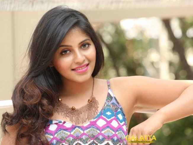 Anjali Cast In O Horror Film On The Occasion Of Birthday