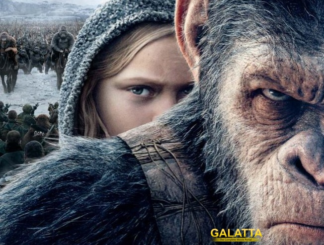 War For the Planet of the Apes to Compete with Tamil, Hindi Releases