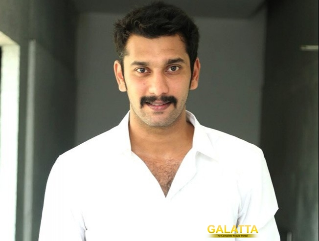 Arulnithi blessed with a baby boy
