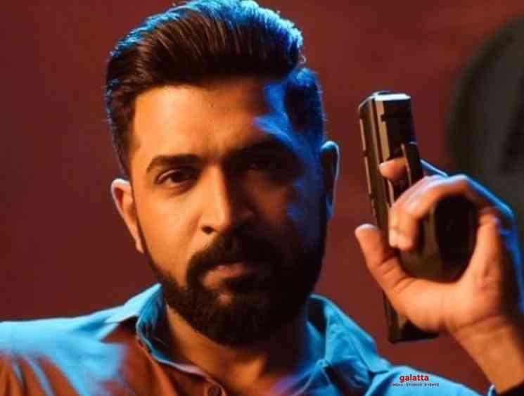 Arun Vijay AV31 second schedule with Regina Cassandra - Tamil Movie Cinema News