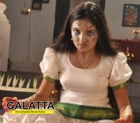 Saranya Mohan turns ghost for Arundhati Vettai
