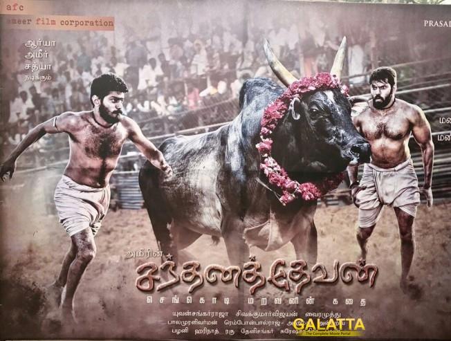 Ameer ropes in Arya, Sathya for a rural drama