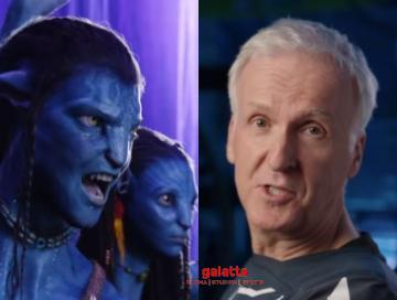 Avatar 2 director James Cameron announcement Disney Plus - Tamil Movie Cinema News
