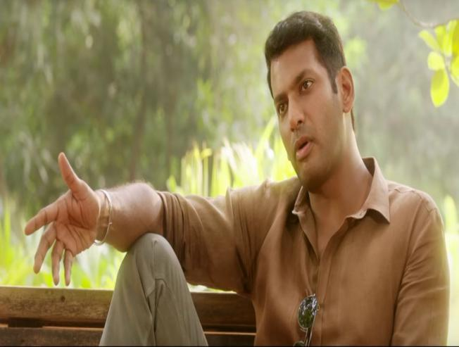 A 2 minute intriguing video from Ayogya featuring Vishal and MS Bhaskar is here