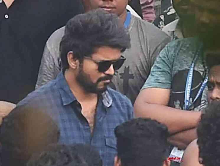 BJP protests against Thalapathy Vijay at Master shooting spot - Tamil Movie Cinema News
