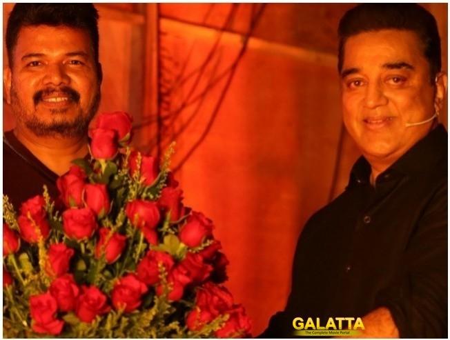 Director Shankar and Kamal Haasan for Indian 2