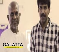 Ilaiyaraaja on the sets of Tharai Thappattai