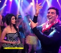 Asin was not supposed to dance in 'Balma'!