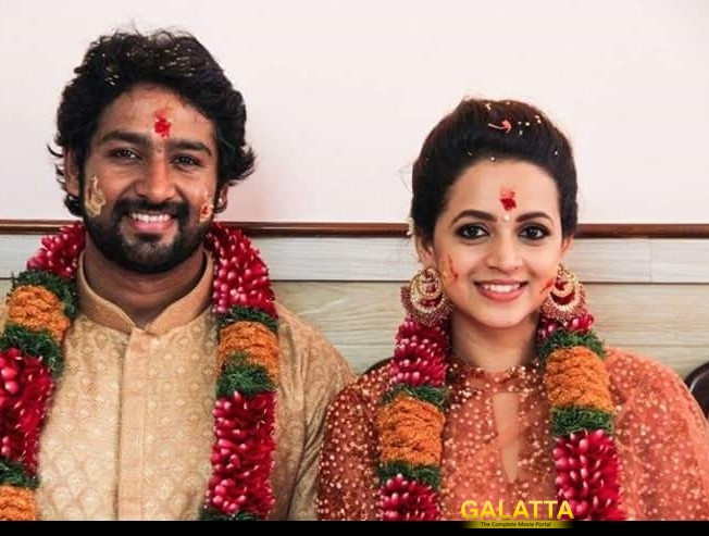 Bhavana gets hitched