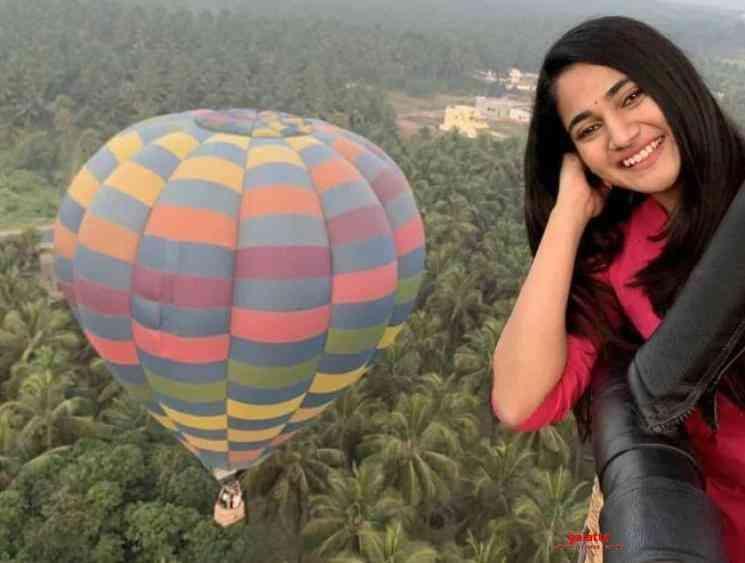 Bigg Boss 3 Losliya Pongal celebration in a hot air balloon - Tamil Movie Cinema News