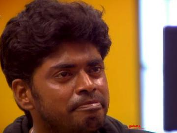 Bigg Boss 3 Sandy emotional after video call with family - Tamil Movie Cinema News
