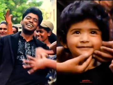 Bigg Boss 3 Sandy daughter Lala dance Verithanam song Bigil Vijay - Tamil Movie Cinema News