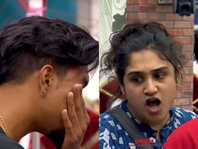 Bigg Boss 3 Vanitha Sandy fight Mugen Abhirami Cheran