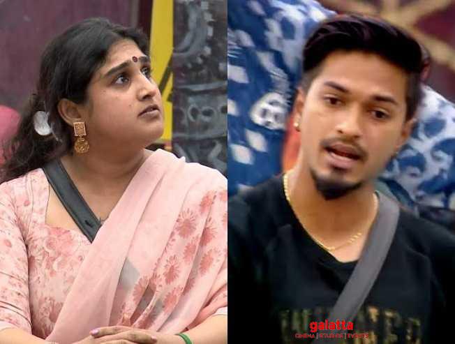 Bigg Boss 3 Vanitha Mugen fight Abhirami Mugen rao girlfriend