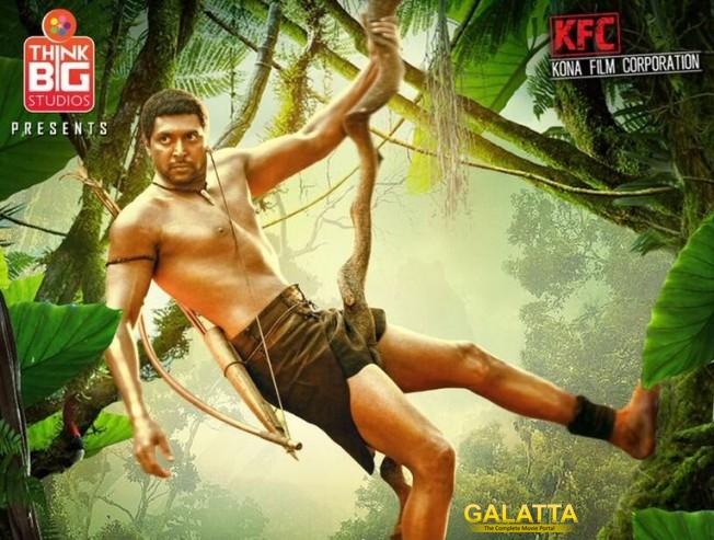 Jayam Ravi impresses in Vanamagan poster